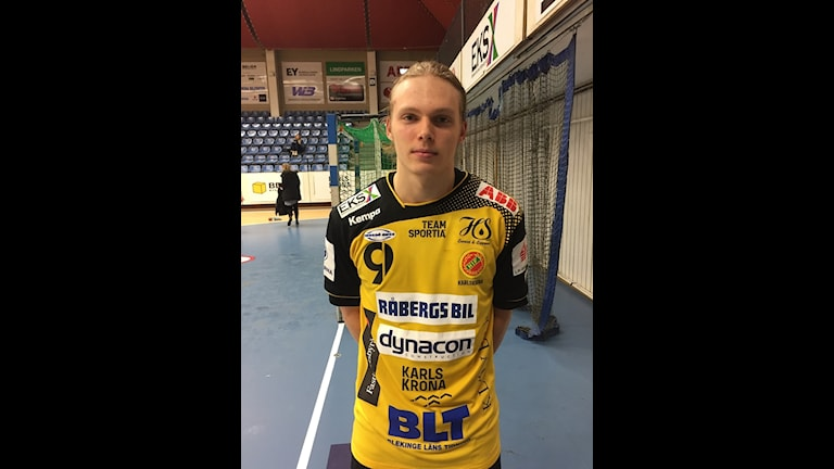Melker Elisson HIF Karlskrona, Foto: Jens Svendsen SR