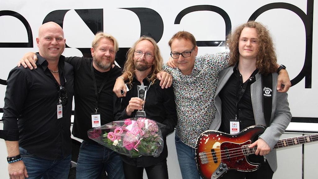 Robert Furlong, Sven-Gunnar Petersson, Joacim Müllo, Roger Olsson och Jens Albertsson.