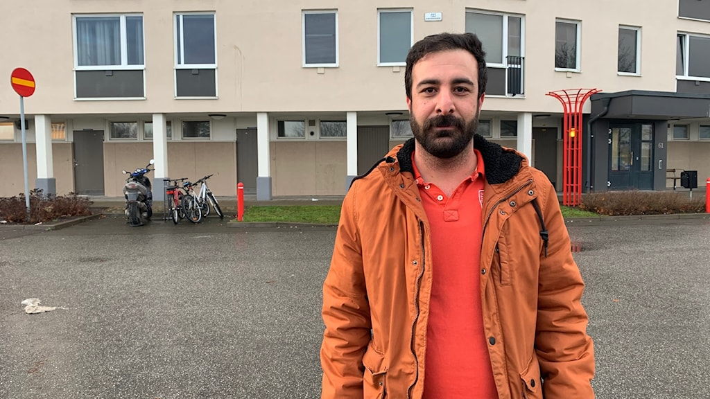 Borzoo Mohammadi som bor i Kungsmarken i Karlskrona.