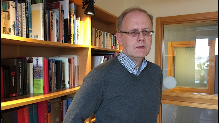 Bengt Wittesjö, smittskyddsläkare vid landstinget Blekinge.