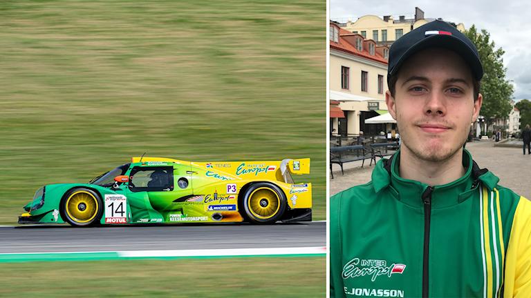 Edward Jonasson racerförare.