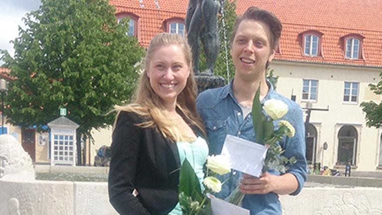 Julia Bremberg och Viktor Jivhed