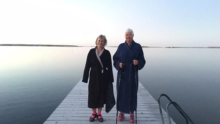 Anne Grönqvist och Margareta Erving