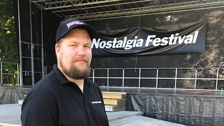 Hans-Ove Boberg, projektledare för Nostalgia Festival.