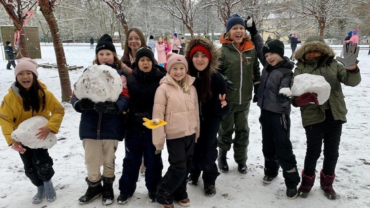 Barn snö Thorén framtid Ronneby