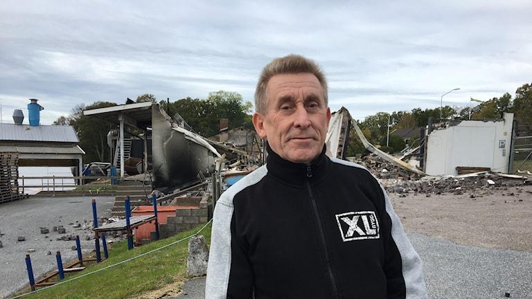 Per Håkansson, vd och delägare på XL-bygg i Jämjö