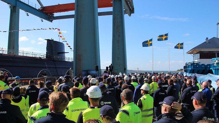 modifiering av ubåten HMS Gotland.