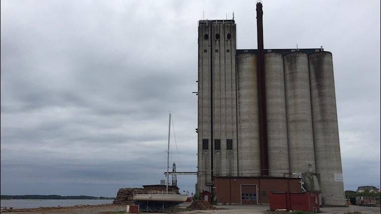 Silon i Sölvesborgs hamn