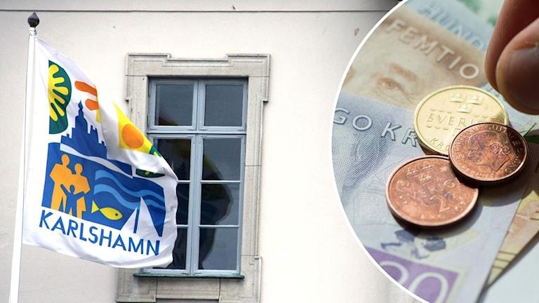Karlshamn budget pengar besparing