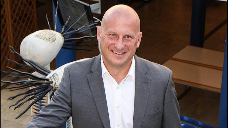 Lars Almoroth, chef för Blekingesjukhuset.