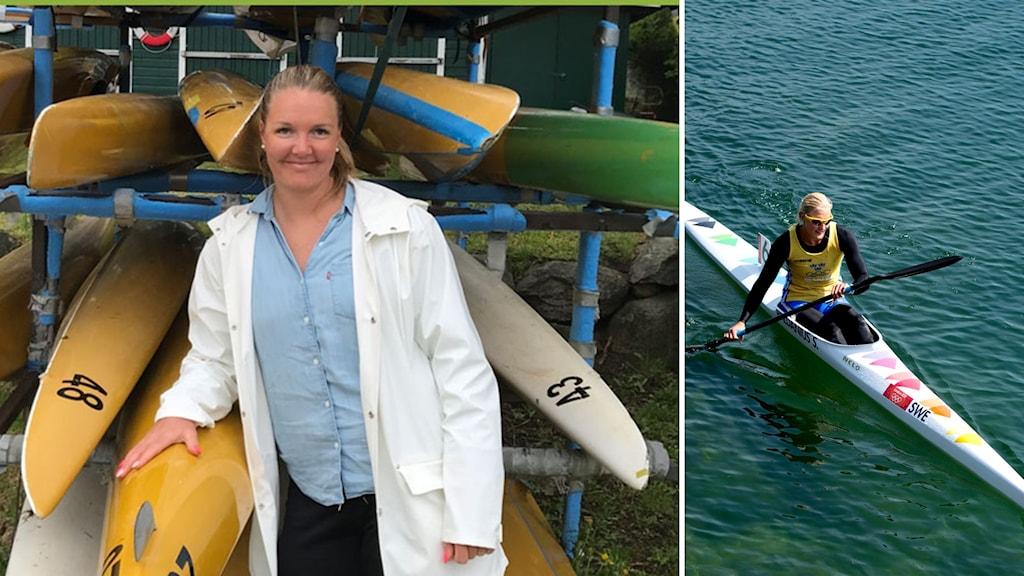 Cecilia Cissi Velin sprint landslag kanot