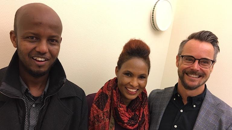 Abbe Muhamed, Letina Buhta Kidune och David Fridlund