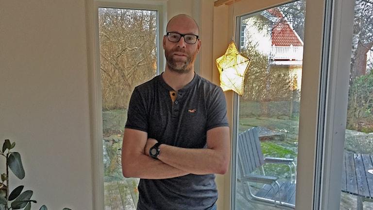 Robert Winnerfeldt är tränare i FK Karlskrona samt har två barn inom föreningen.