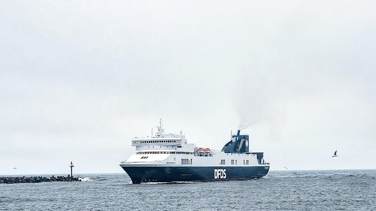 Optima Seaways som trafikerar linjen Karlshamn-Klaipeda.