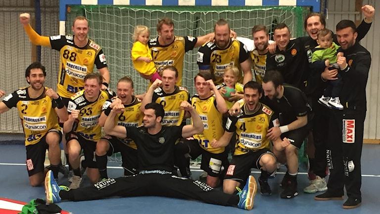 HIF Karlskrona säkrade nytt kontrakt i Handbollsligan. Foto: Jens Svendsen