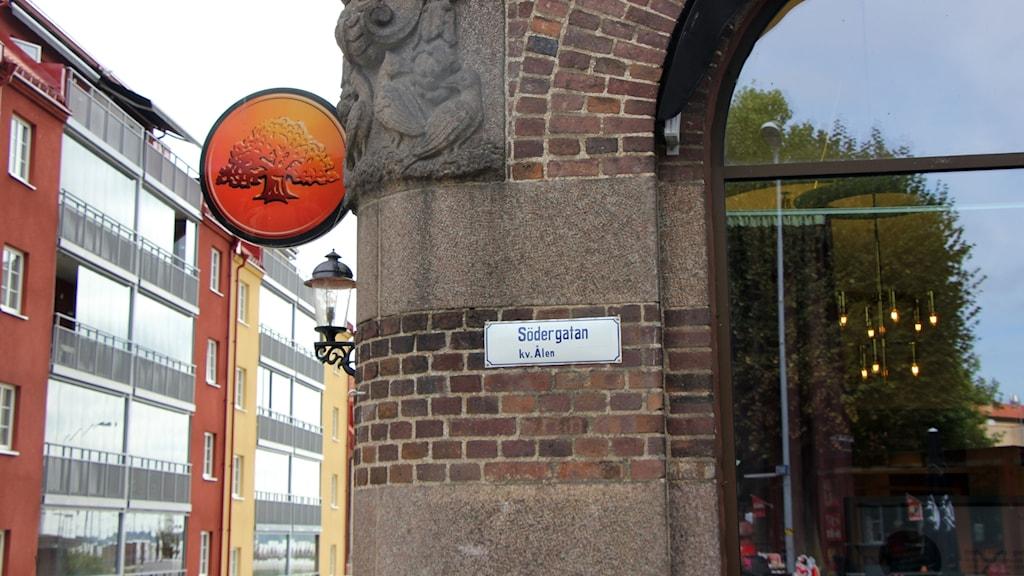 Fasaden till Sölvesborg-Mjällby Sparbank