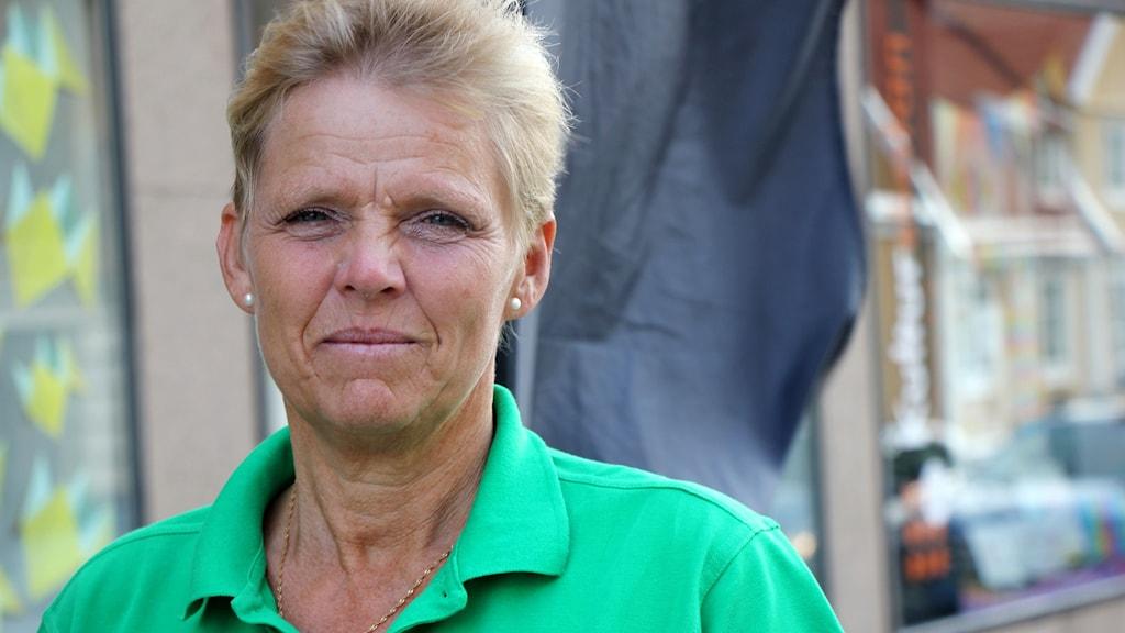 Ingrid Hermansson från Centerpartiet i Karlskrona