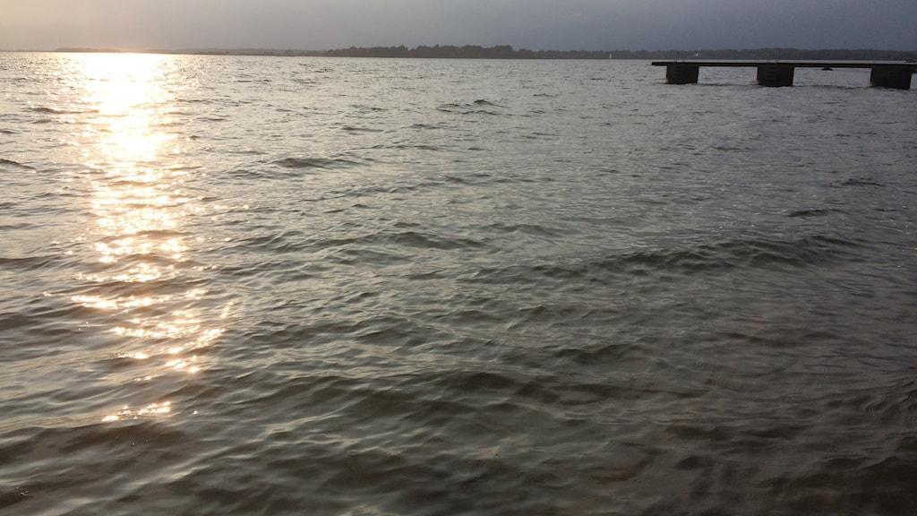 Brygga hav vatten