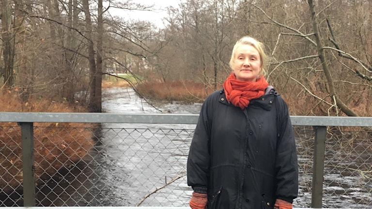 Eva Johansson som är miljösamordnare i Olofströms kommun.