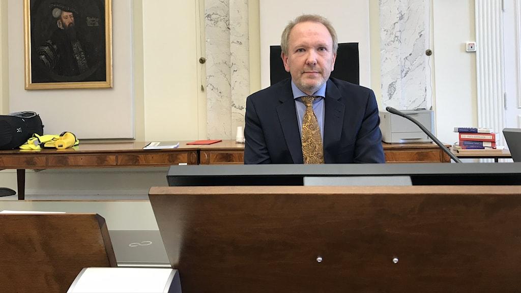 Dan Sjåstad, Lagman tingsrätten Blekinge