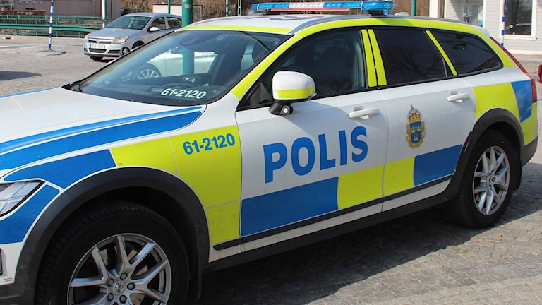 polisbil Ronneby
