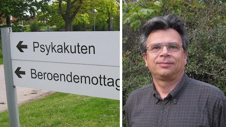 Peter Valverius, chefläkare inom psykiatrin i Region Blekinge.