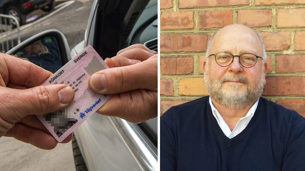 Kåre Johansson hjälper ensamkommande att ta körkort.