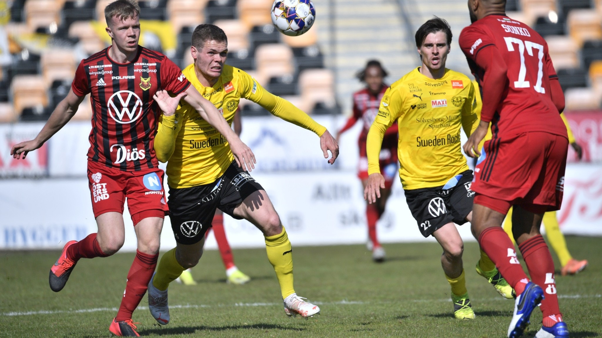 Andra raka vinsten för Mjällby – Bergström flyttade målstolpen