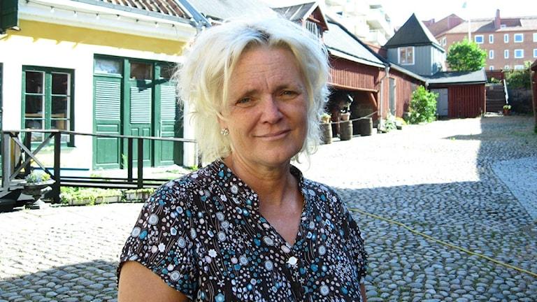 Anneli Malmborgs bror är drabbad av schizofreni sedan 20 år tillbaks. Foto: Astrid Adelgren/Sveriges Radio