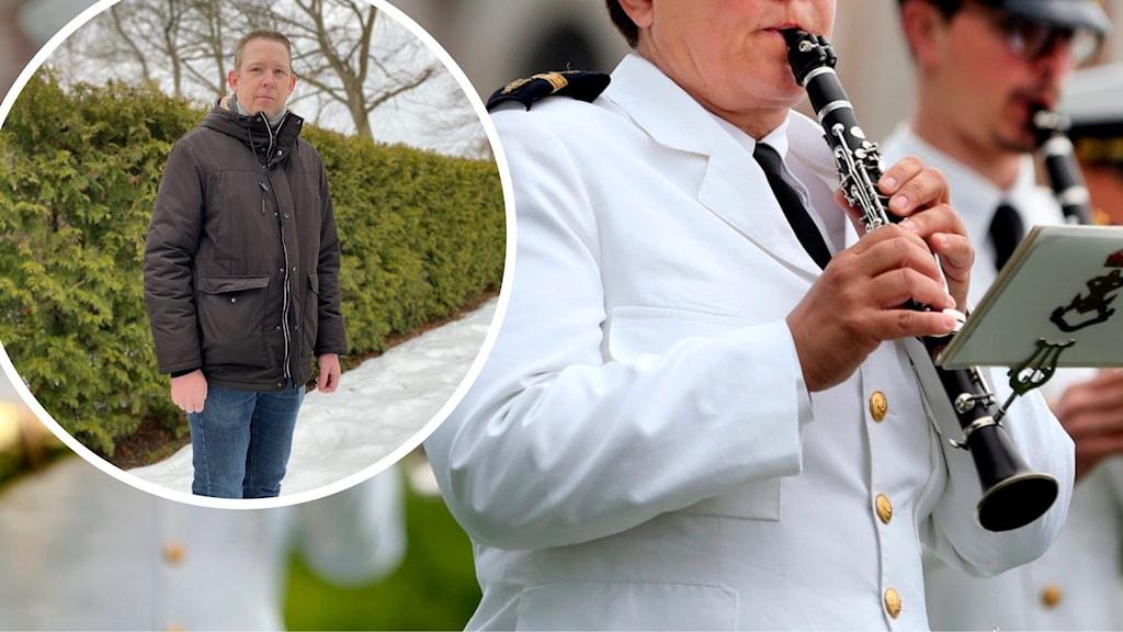 Blåsmusik Jocke Berg Marinens musikkår