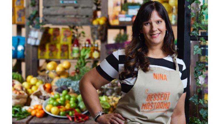 Nina Johansson från Mörrum medverkar i Dessertmästarna.