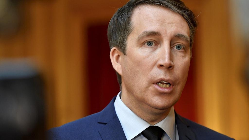 Sverigedemokraternas partisekreterare Richard Jomshof