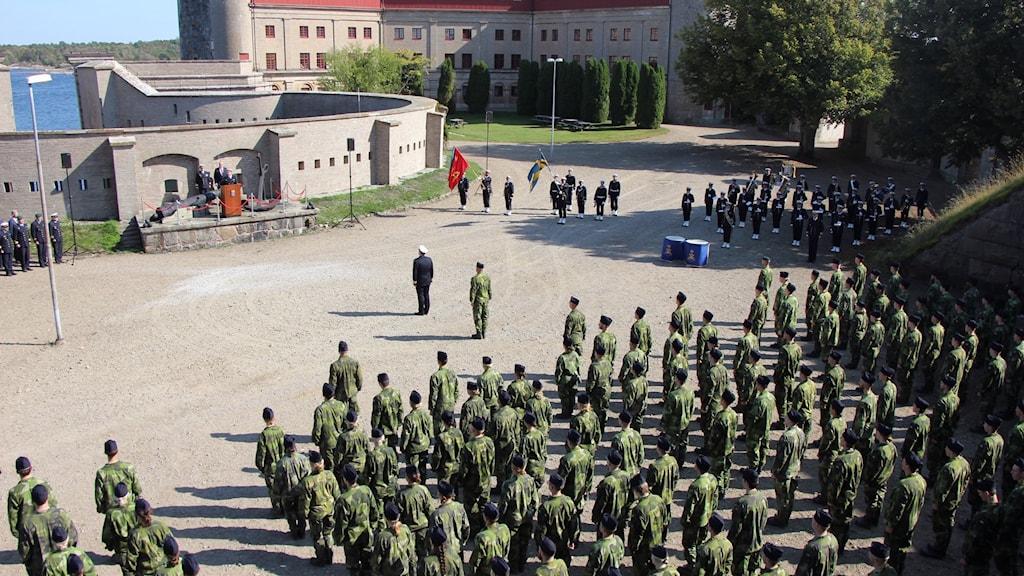 invigning kungsholmsfort