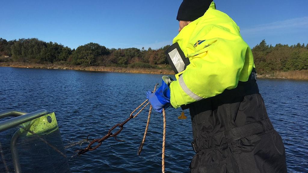 Tobias Jeppson, fiskerikonsulent på Havs- och vattenmyndigheten.