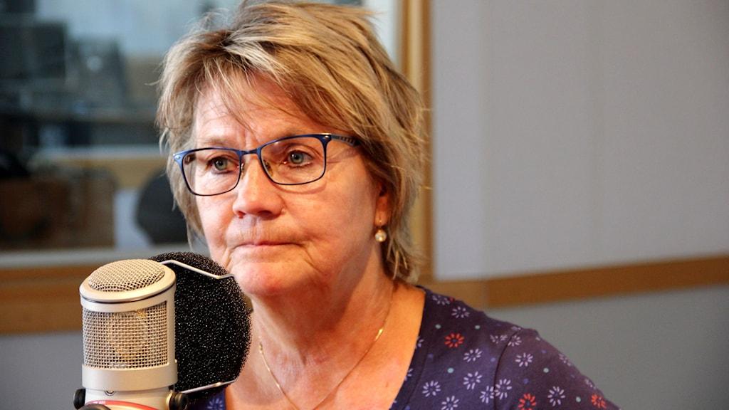 Yvonne Sandberg Fries. Foto: Stina Linde/Sveriges Radio