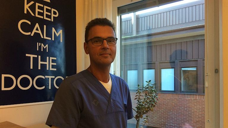 Magnus Ljungcranz, barnläkare och verksamhetschef på barn-och ungdomskliniken på Blekinge sjukhuset