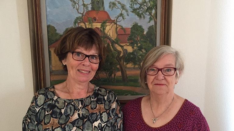 Britt Kilsäter och Ingalill Nilsson