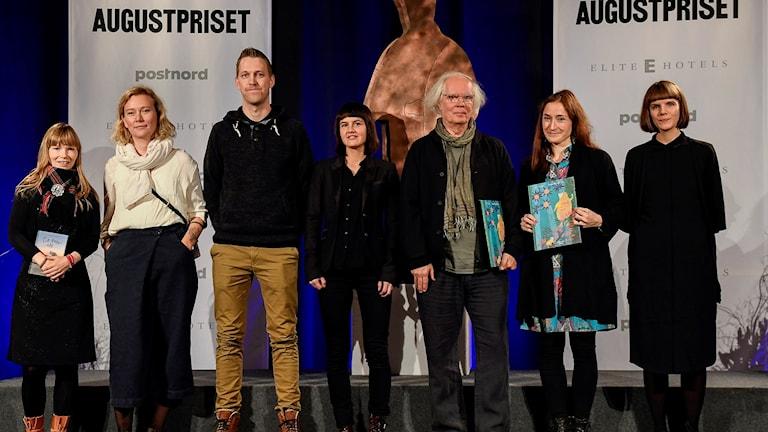 Författare som är nominerad till Augustpriset.