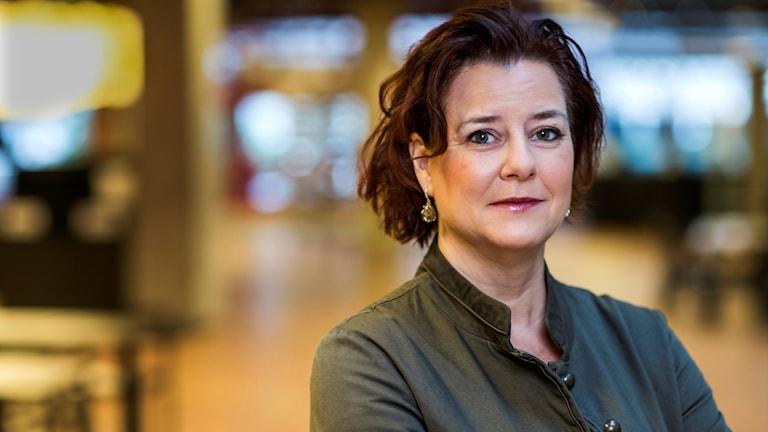 Anna Carlstedt som är  nationell samordnare mot våldsbejakande extremism.