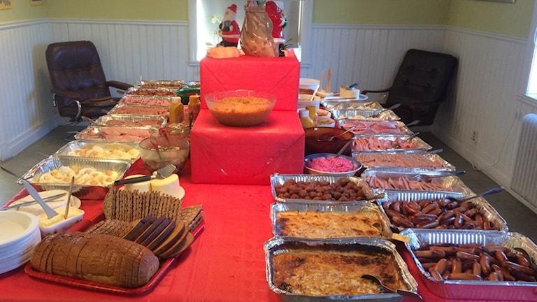 Julbord på Ria gården