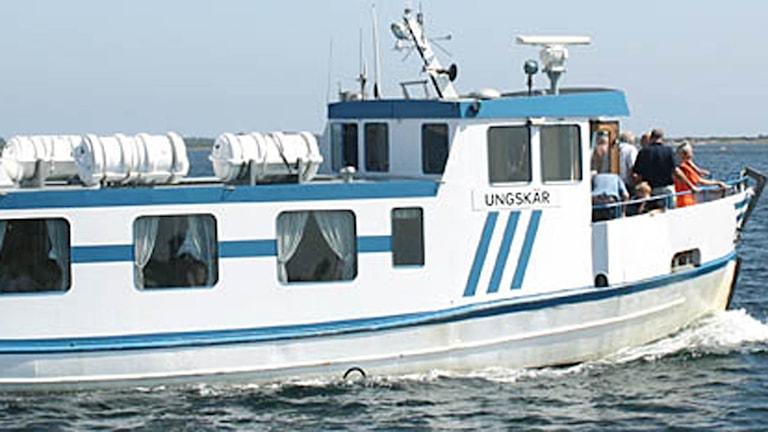Båten M/F Ungskär.