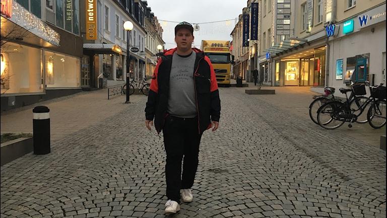 Marthin Latvalehto från Nättraby spelade bort flera hundratusen kronor.