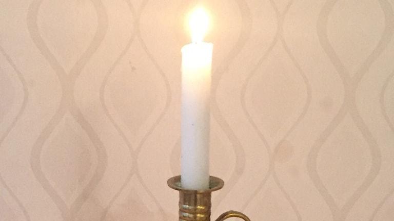 brinannde ljus