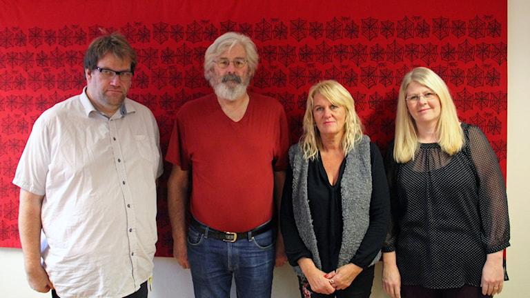 Andreas Pettersson, Jan Johansson, Carina Lennartsson och Ida Johansson trycker alla på vikten av bra kontaktpersoner.