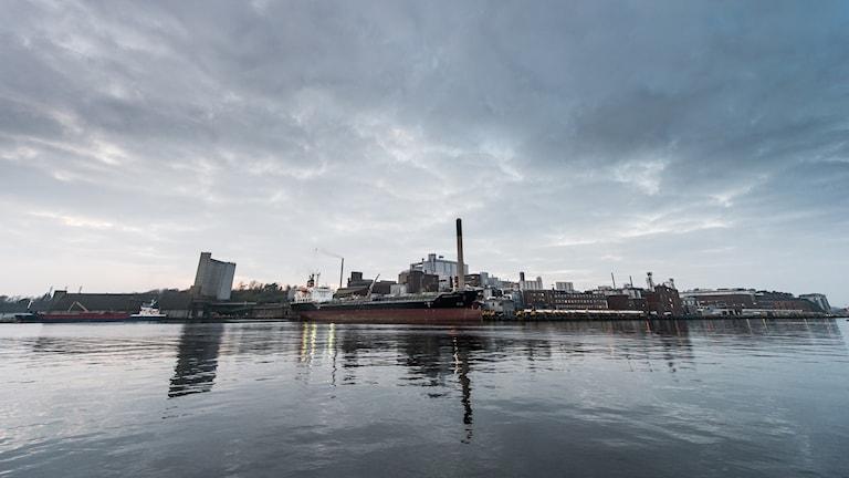Karlshamns hamn.