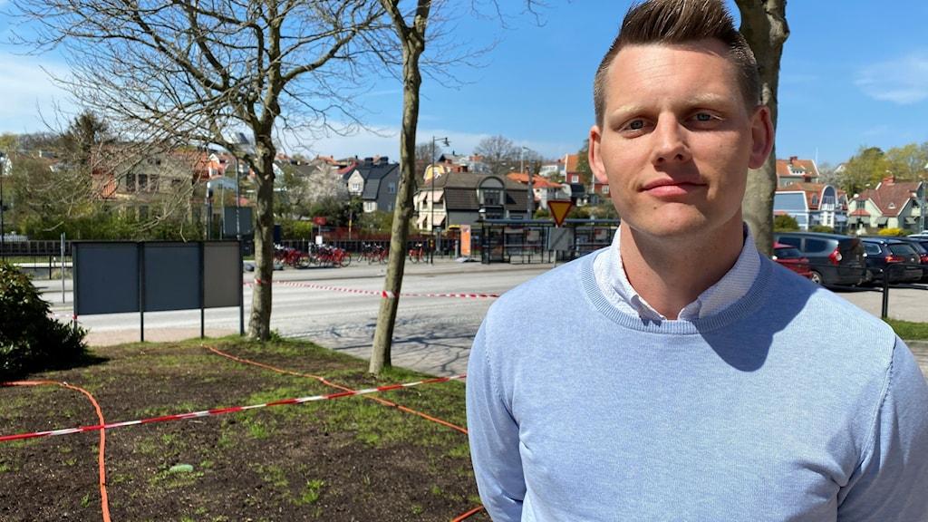 Henrik Magnell är biträdande vaccinationssamordnare vid Region Blekinge.