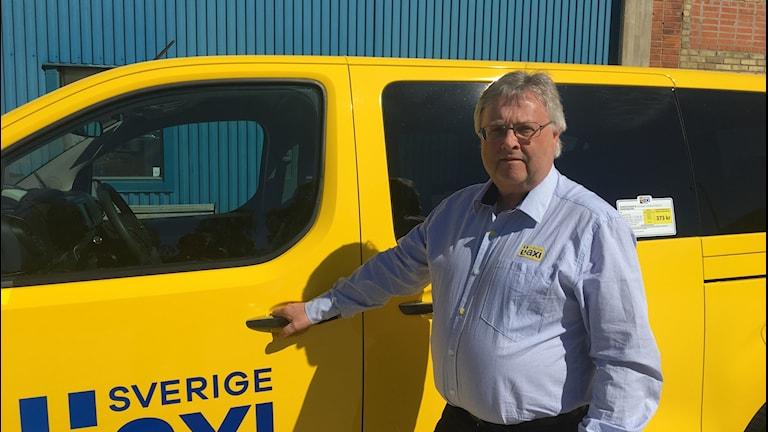 Anders Bromée, vd på Sverigetaxi.