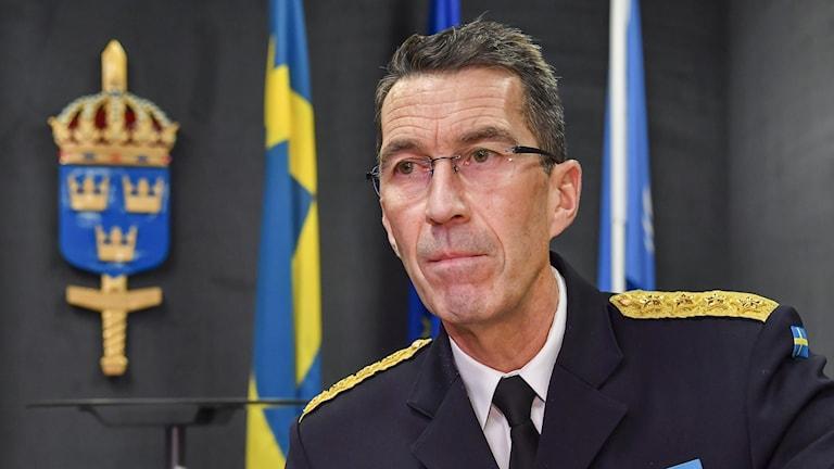 Överbefälhavaren Micael Bydén.