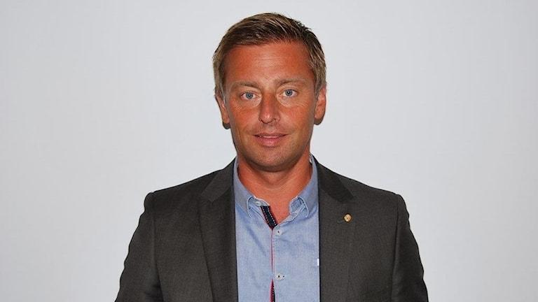 En porträttbild på Peter Berglin, vd, Ronneby Miljö & Teknik