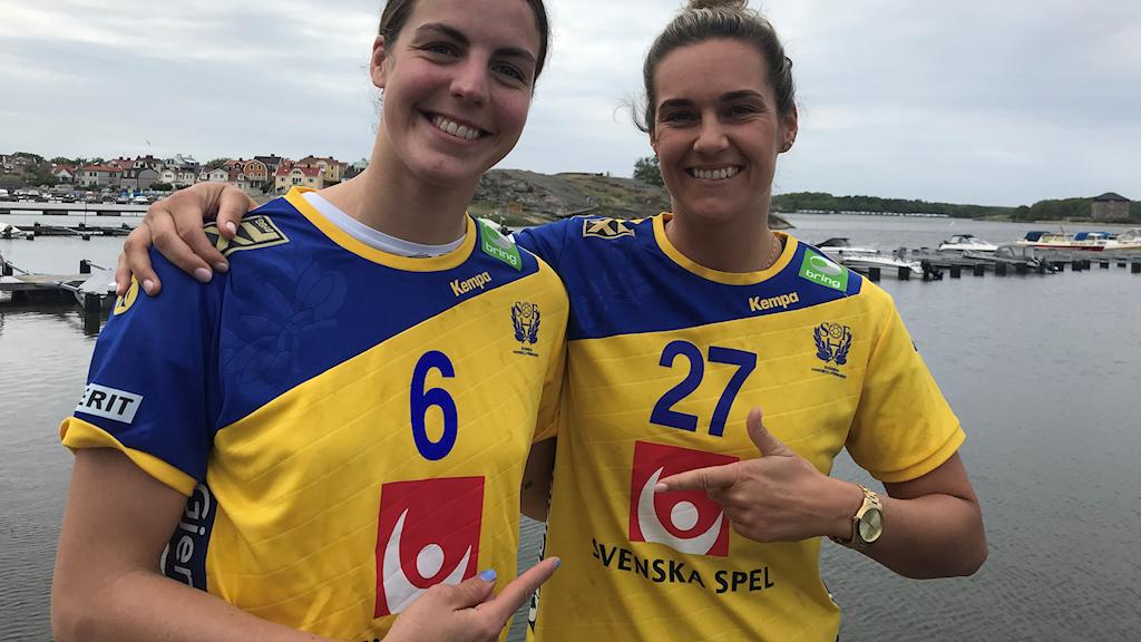 Carin Strömberg och Sabina Jacobsen.